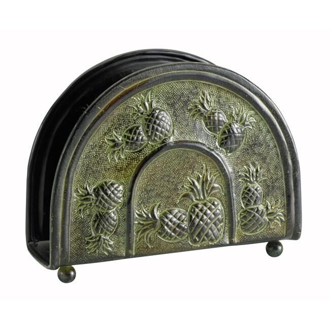 Old Dutch Pina Green Napkin Holder