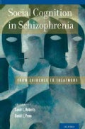 Social Cognition in Schizophrenia: From Evidence to Treatment (Hardcover)