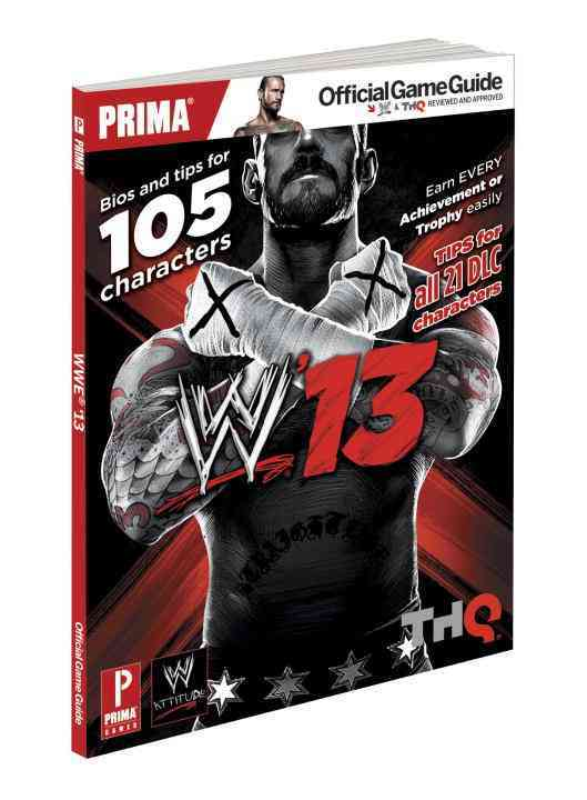 WWE '13: Prima Official Game Guide (Paperback)