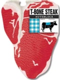 T-bone Steak Noteblock (Notebook / blank book)