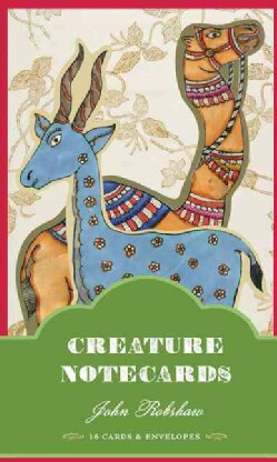 Creature Notecards: 16 Cards & Envelopes (Cards)