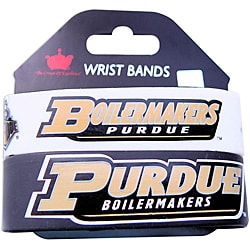 Purdue Boilermakers Rubber Wrist Bands (Set of 2) NCAA