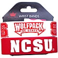 North Carolina State Wolfpack Rubber Wrist Band (Set of 2) NCAA