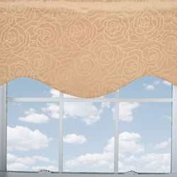 Carlyle Shaped Lined Valance
