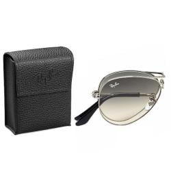 Ray-Ban Unisex 'RB3479 Foldable Aviator 004/32' Gunmetal Metal Sunglasses