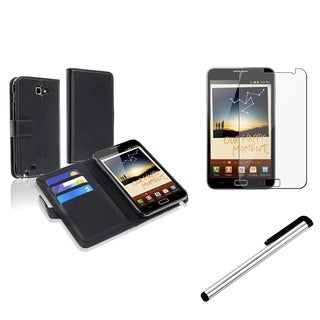 Black Case/ Screen Protector/ Stylus for Samsung� Galaxy Note N7000
