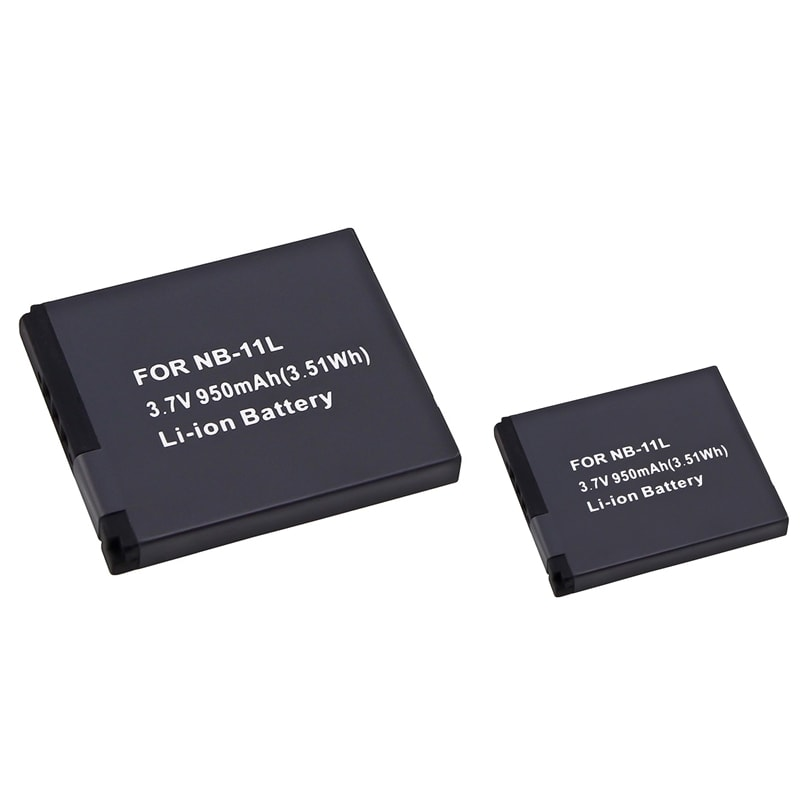 INSTEN Compatible Li-ion Battery for Canon NB-11L (Pack of 2)