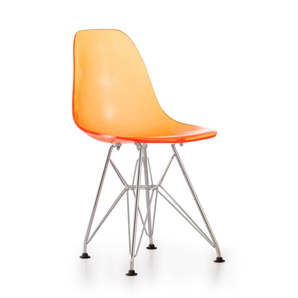 Baby Spire Transparent Orange Chair