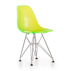 Baby Spire Transparent Green Chair