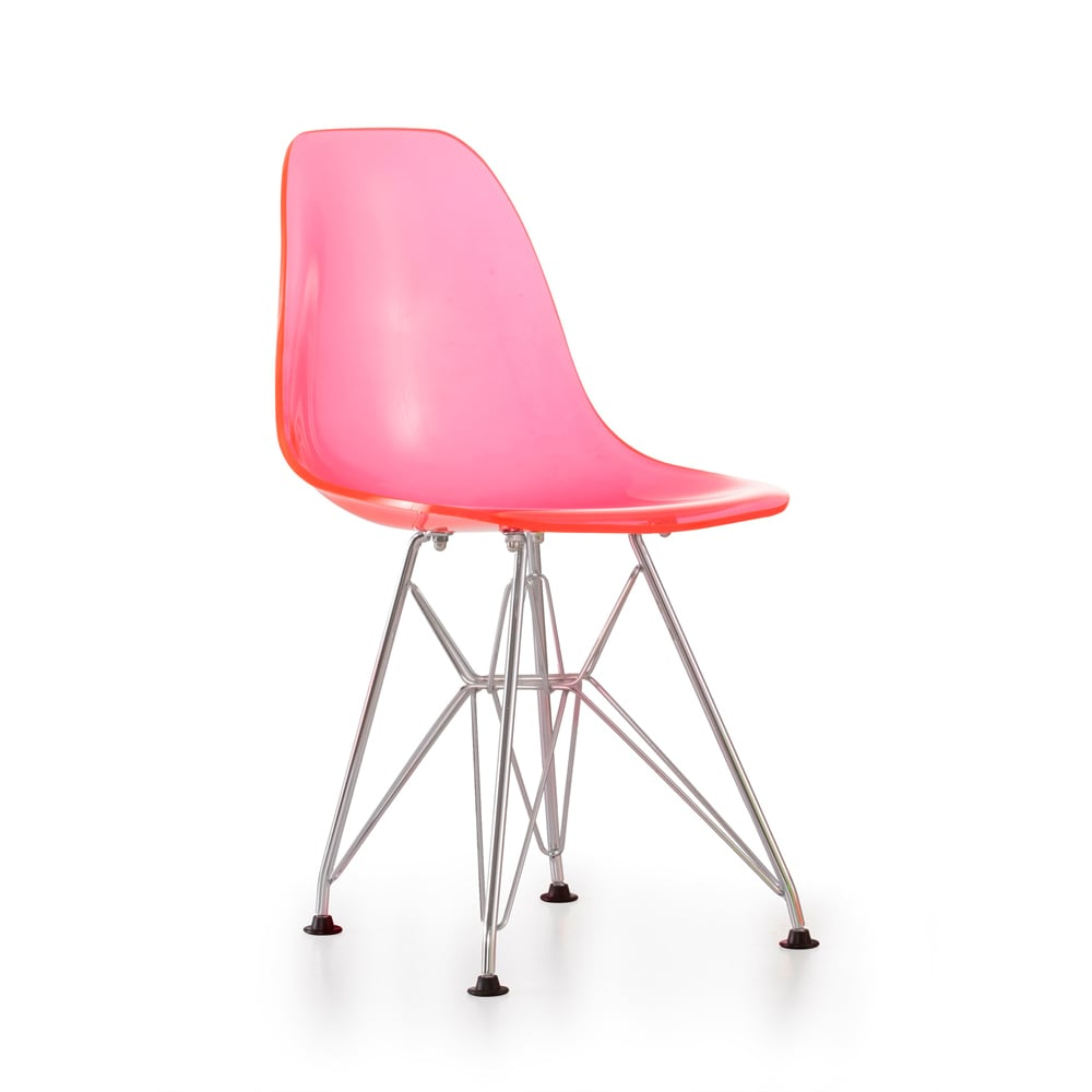 Baby Spire Transparent Pink Chair