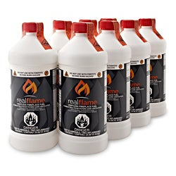 Real Flame Ventless Fireplace Fuel (Pack of 8)