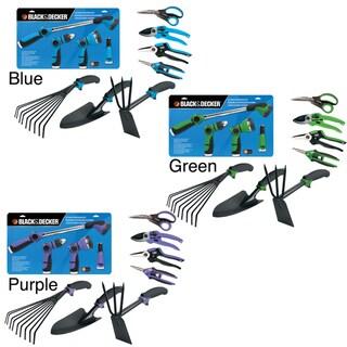 Black & Decker Home 8-piece Ultimate Garden Tool Kit