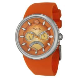 Fruitz Women's 'Happy Hour Tequila Sunrise' Stainless Steel Watch