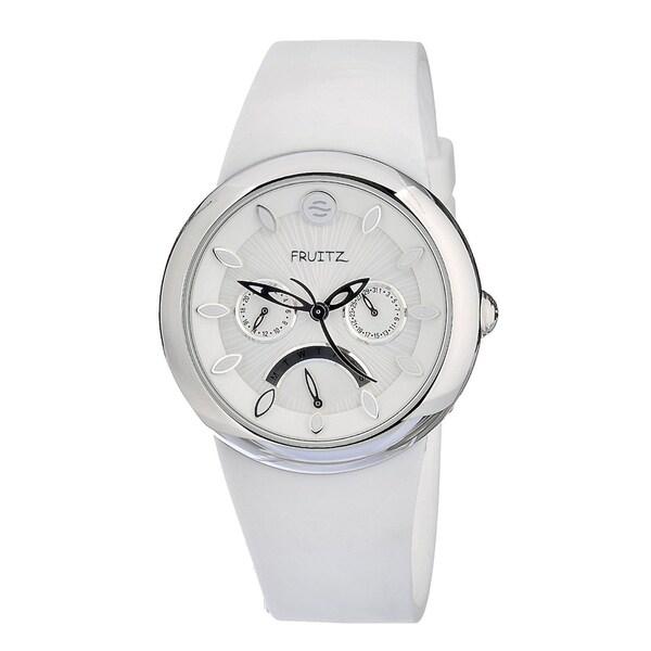 Fruitz Women's 'Happy Hour Pina Colada' Stainless Steel Watch