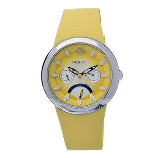 Fruitz Women's 'Happy Hour Margarita' Stainless Steel Watch