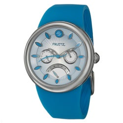 Fruitz Women's Stainless Steel 'Happy Hour Blue Lagoon' Watch