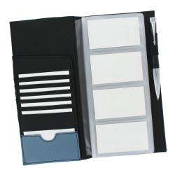 Rolodex Blue Low Profile 96 Card Business Card Book