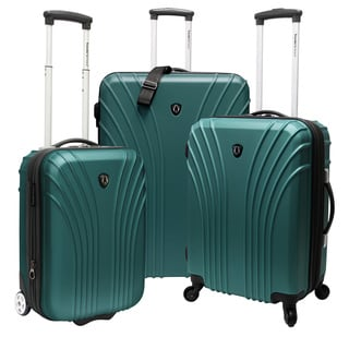 Traveler&#39;s Choice TC8500 3-piece 18.5 - 22 - 28-inch Hardside Luggage Set