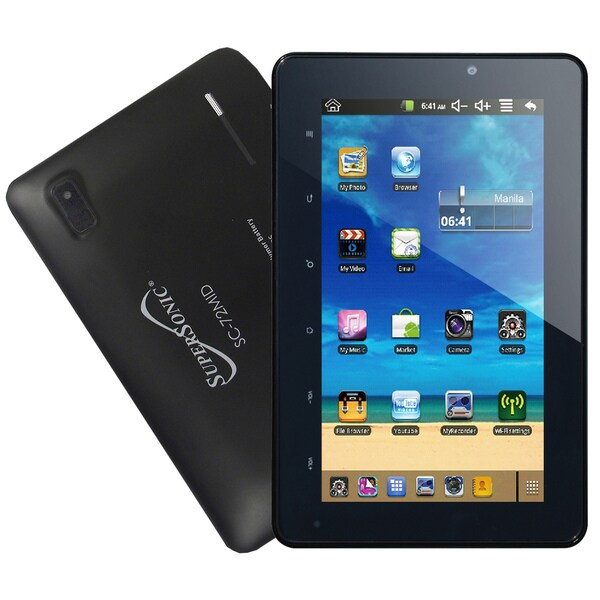 Supersonic SC-72MID Matrix 7 inch Capacitive Touchscreen tablet with Android 4.0 Operating System