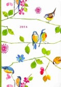 Watercolor Birds 2014 Calendar (Calendar)
