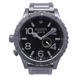 Nixon Men's 51-30 Gunmetal Black Tide Watch