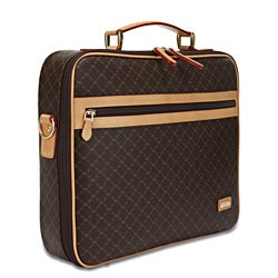 Rioni Signature Brown Jetsetter's Briefcase