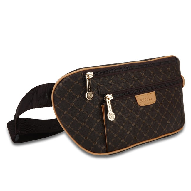 Rioni Signature Brown Traveler's Pouch