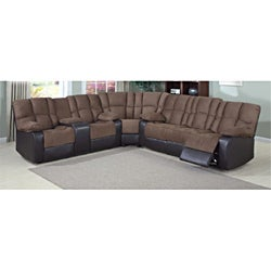 David Dual Reclining Sectional