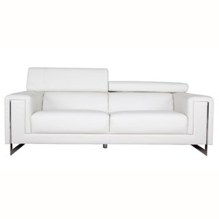 Carter Cream White Sofa