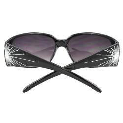 Women's Black Stylish Square Sunglasses