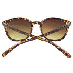 Women's Tortoise Oval Fashion Sunglasses