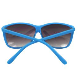 Women's Blue Square Fashion Sunglasses