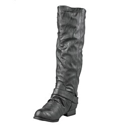 Wild Diva by Beston Women's 'Tosca-01A' Knee High Boots
