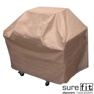 Sure Fit Taupe Medium Grill Cover