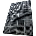 Rubber-Cal Dura-Chef Sr. Rubber Anti-Fatigue Kitchen Mat 0.875-inch Thick 38.5-inch x 58.5-inch Black