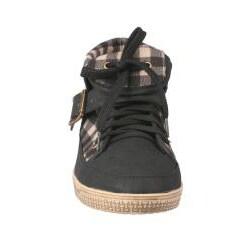 Viva Secret by Beston Women's Black High-top Sneakers