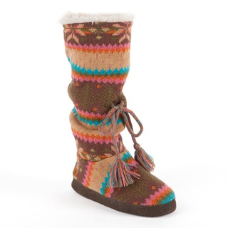 Muk Luks 'Emma' Vintage Lodge Toggle Slipper Boot