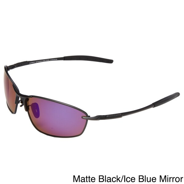 Peppers 'Linchpin' Men's Black Polarized Sunglasses