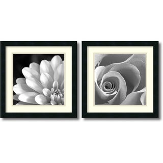 Pretty Petals Framed Art Print Set
