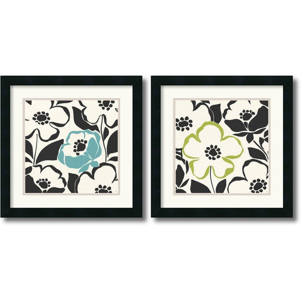 Sarah Adams 'Truly Madly' Framed Art Print Set