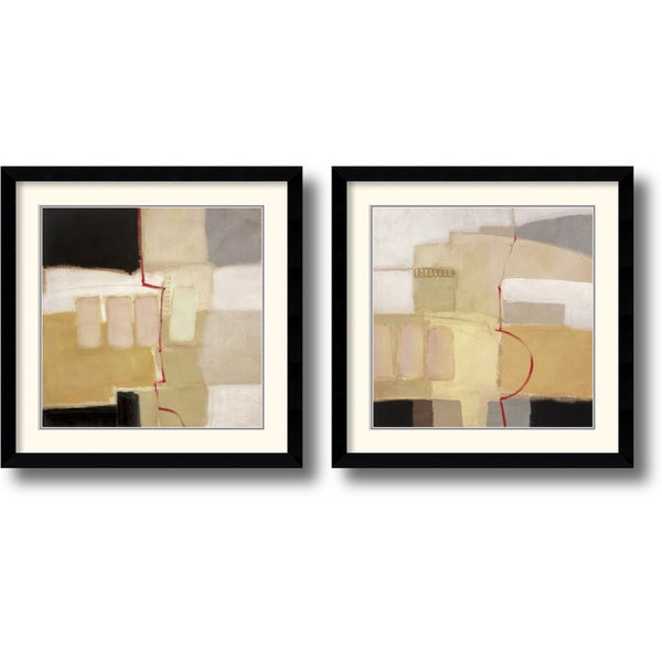Craig Alan 'Urban Grid' Framed Art Print Set