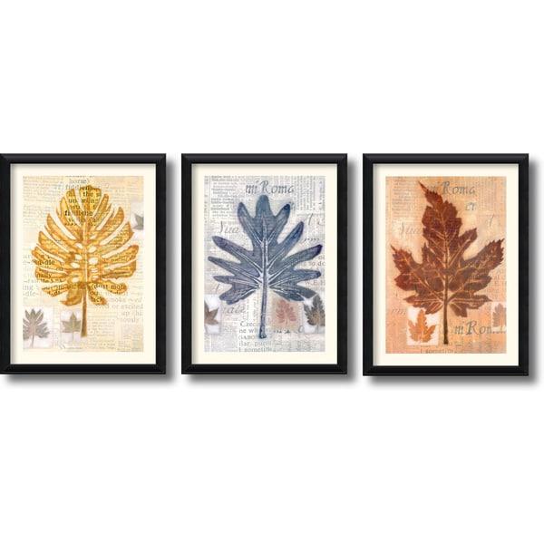 Craig Alan 'Harvest Trio' Framed Art Print Set