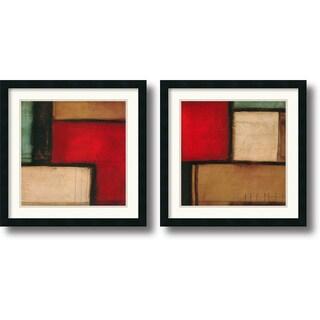 Candice Alford 'Merge & Yield' Framed Art Print Set