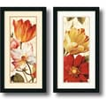 Lisa Audit 'Poesie Florale Paneal' Framed Art Print Set