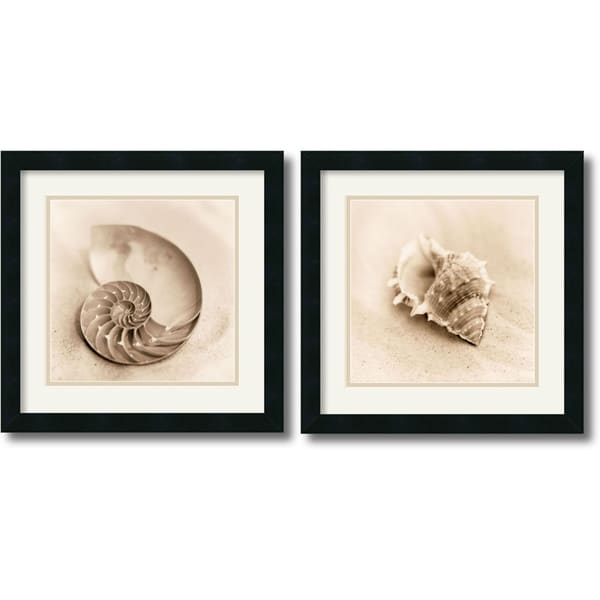 Alan Blaustein 'Il Oceano' Framed Art Print Set