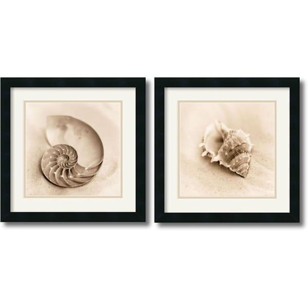 Alan Blaustein 'Il Oceano' Framed Art Print Set
