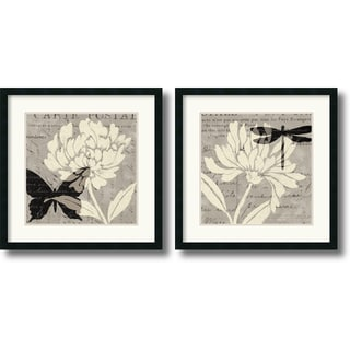 Daphne Brissonnet 'Natural Prints' Framed Art Print Set