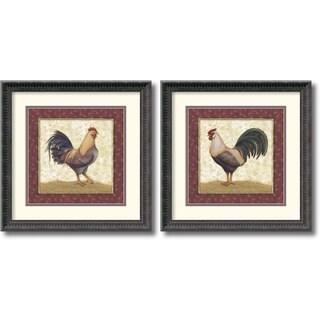 Daphne Brissonnet 'Feathers' Framed Art Print Set