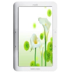 Barnes & Noble nook 2GB Wi-Fi White 1st Ed (Refurbished)