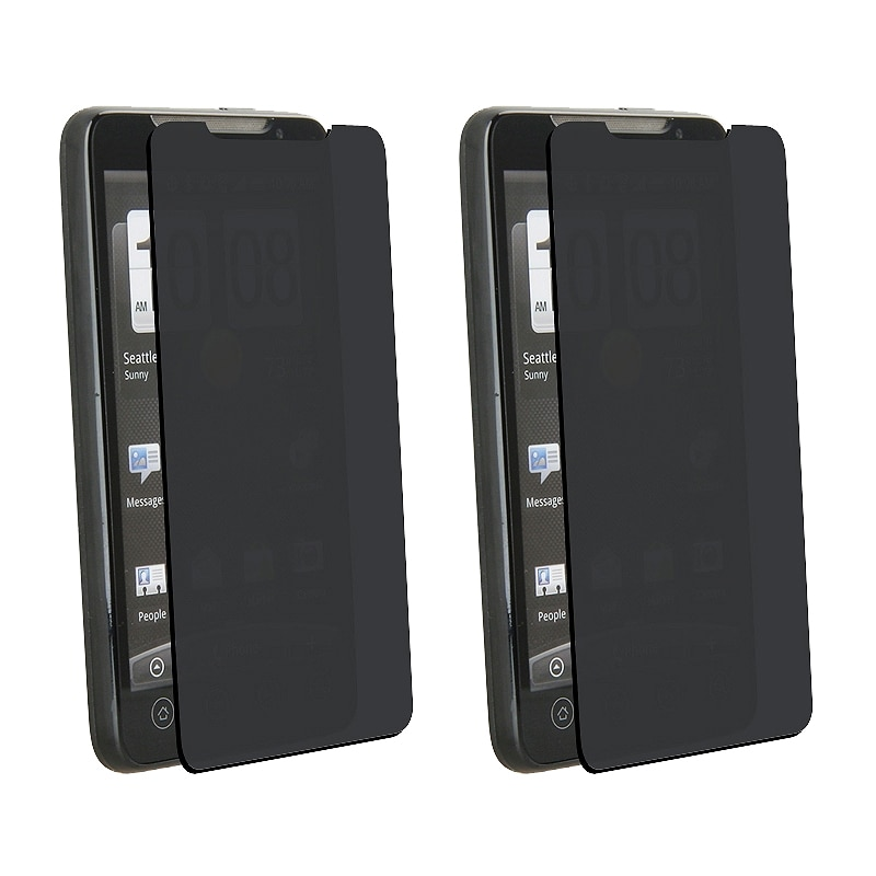INSTEN Privacy Filter Screen Protector for HTC EVO 4G (Pack of 3)